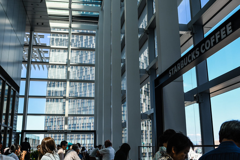 JRタワー15階オブザーベーションデッキ