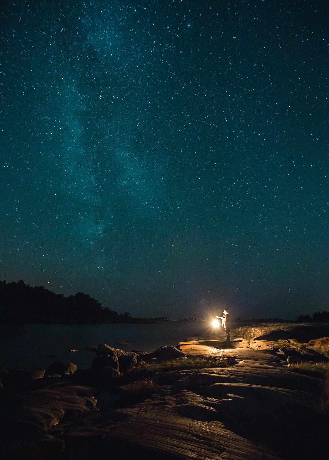 tähtikuvaus asetukset