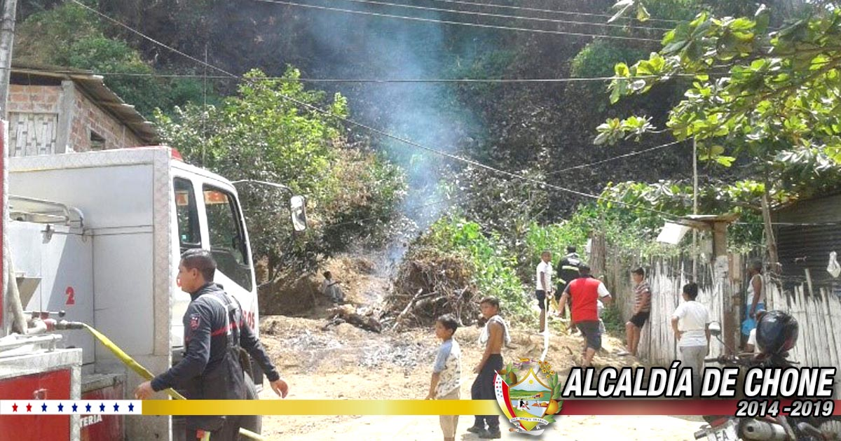 Bomberos municipales reportan emergencias presentadas en Chone