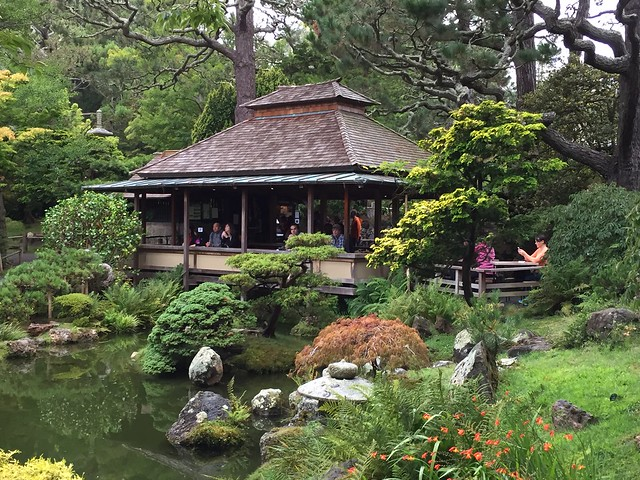 Japanese Tea Garden Tea House