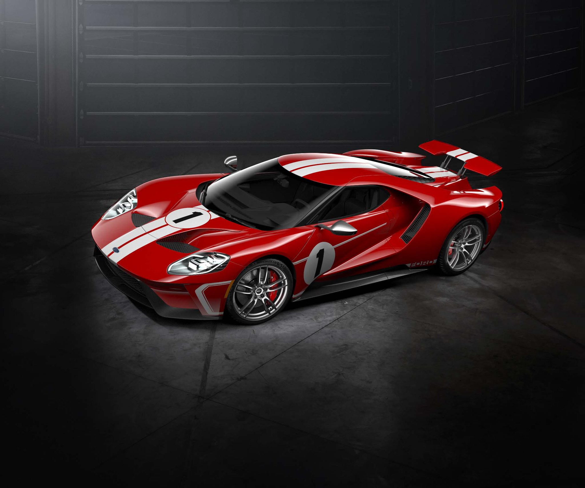 Ford GT '67 Heritage edition honoring historic No. 1 race car introduced for 2018 model year