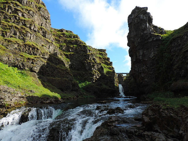 Breathtaking Canyons In Iceland: Kolugljúfur, Northern Iceland