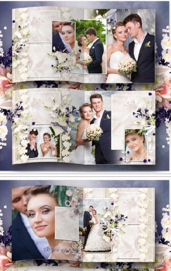 Download template wedding photo book – endless love