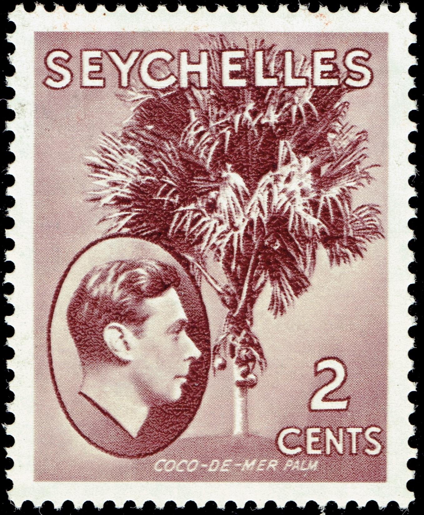 Seychelles #125 (1938)