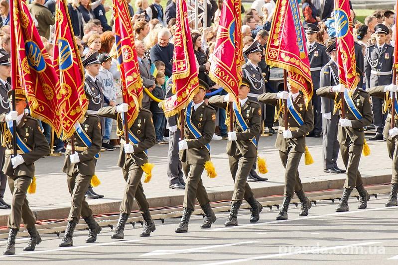 Парад в Києві на День Незалежності 2017
