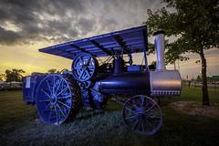 A.D. Backer Co. Steam Engine