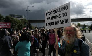 Stop selling weapons to Saudi Arabia.