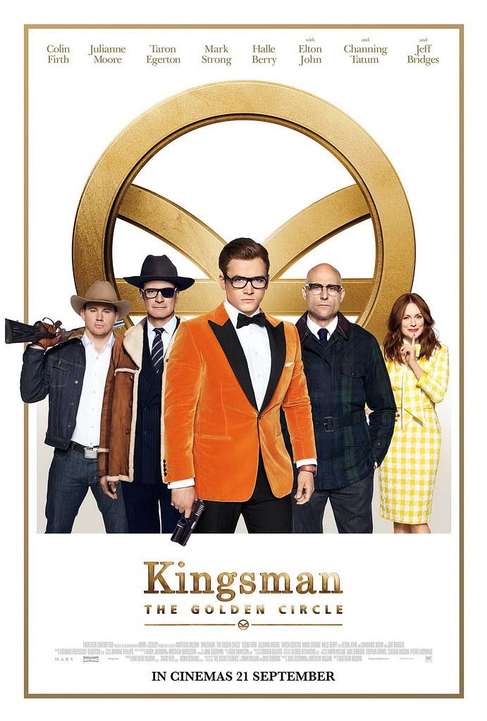 Kingsman The Golden Circle_1Sht_Mainkeyart