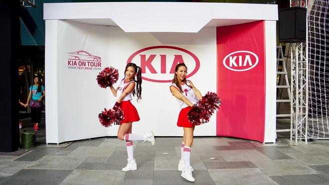 2.「KIA on Tour動感巡迴試駕」將於9月16日(六)、17日(日)巡迴至高雄大魯閣購物中心,歡迎南部朋友預約試駕報名。