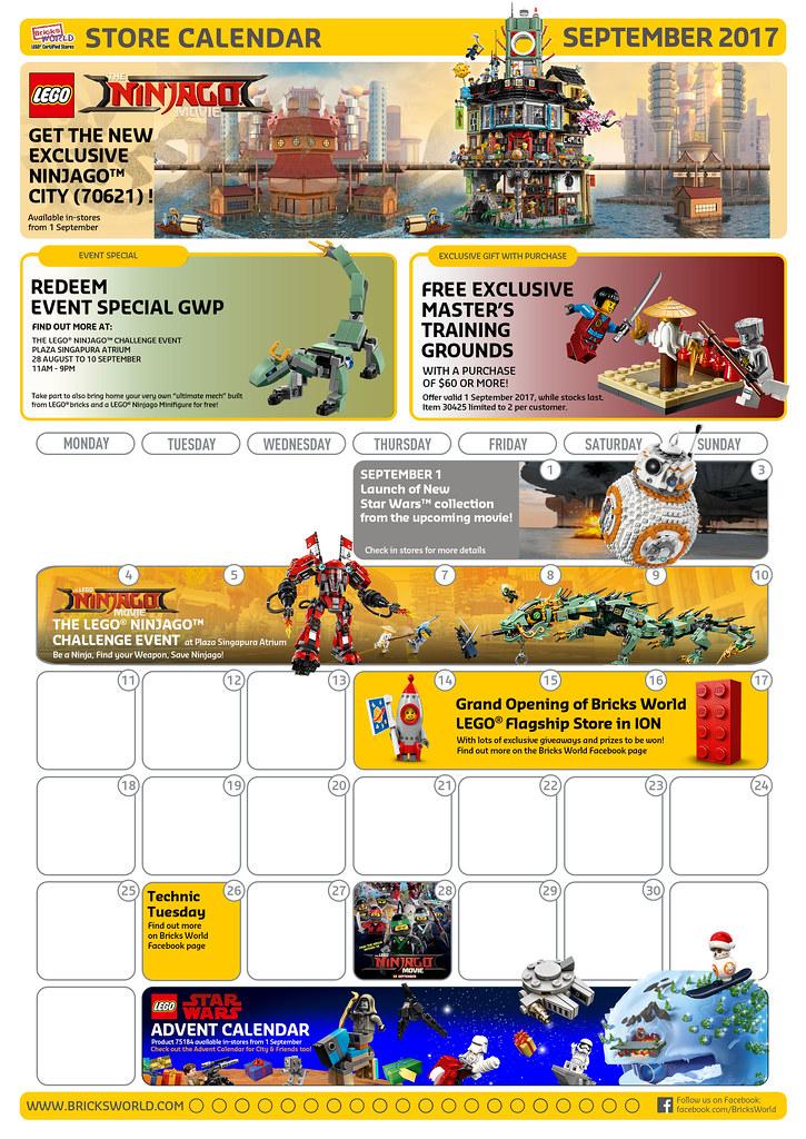 LCS September 2017 Calendar - Front