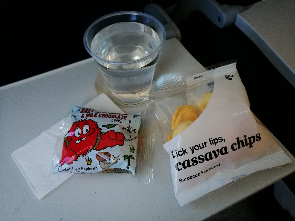 Air New Zealand Inflight snacks