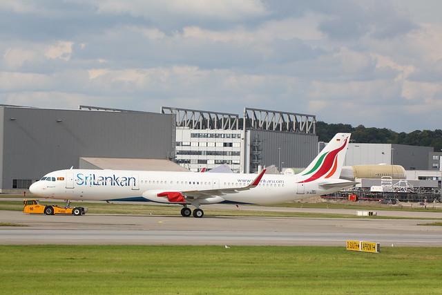 A321neo SriLankan 4R-ANE