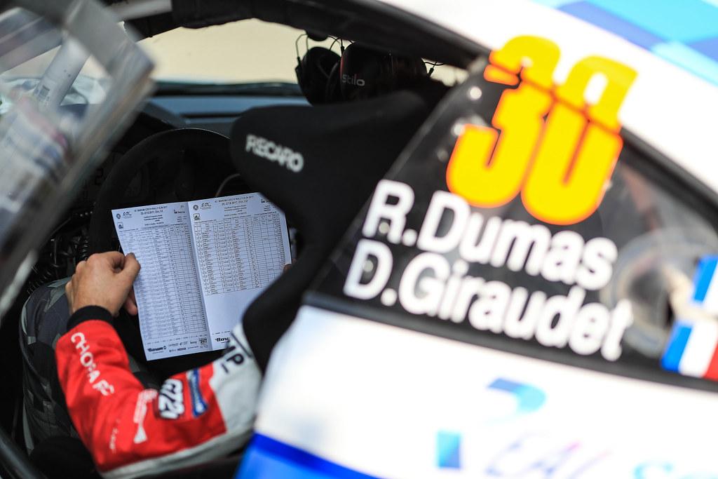 30 DUMAS Romain (FRA) GIRAUDET Denis (FRA) Porsche 997 GT3 ambience portrait during the 2017 European Rally Championship ERC Barum rally,  from August 25 to 27, at Zlin, Czech Republic - Photo Jorge Cunha / DPPI