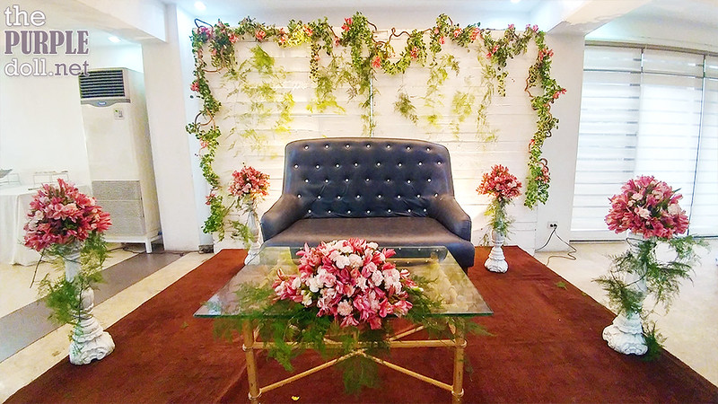 Couple's Backdrop by Josiah's Catering