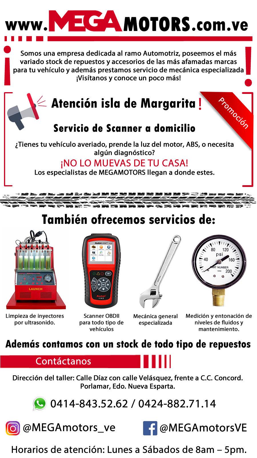 SERVICIO A DOMICILIO MEGAMOTORS
