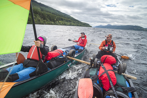 Great Glen Canoe Expedition September 2017