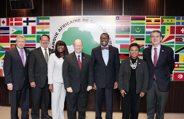US Congressional Delegation's visit to AfDB, August 31, 2017