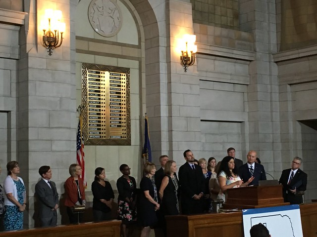 Gov. Ricketts and First Lady Shore Launch New Child Welfare Initiative
