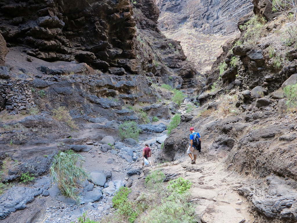 Descenso al barranco de Masca