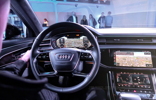 d couverte en vid o de la nouvelle audi a8 vlog cars passion. Black Bedroom Furniture Sets. Home Design Ideas
