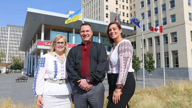 Marking Alberta's Ukrainian-Canadian Heritage Day