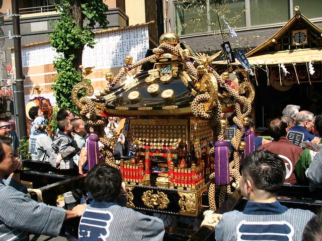 Mikoshi, Sanja Matsuri, Asakusa, Tokyo