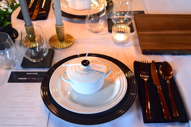 Le Creuset Table Setting | www.rachelphipps.com @rachelphipps