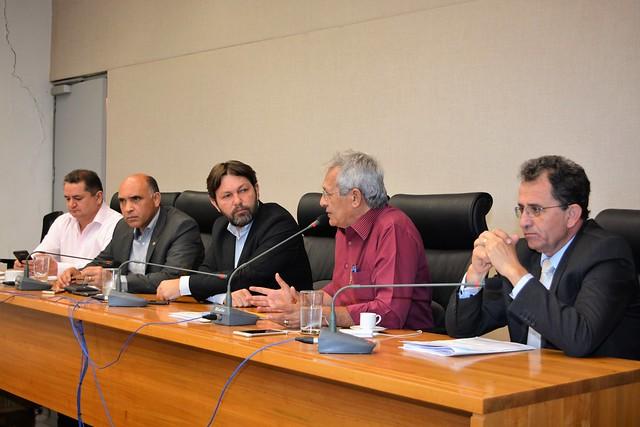 Reunião com os Sindicatos dos Servidores Públicos do DF.