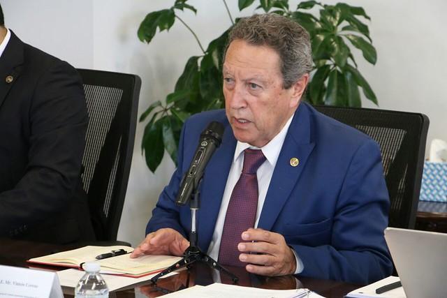 Secretario General del SICA, Vinicio Cerezo, fortalece alianzas estratégicas para proyectos regionales