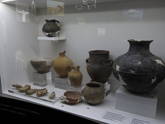 Pottery and ceramics excavated in the general the area