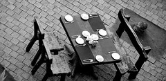 Table is set in Monochrome