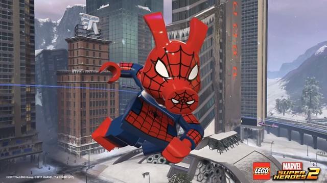 Więcej postaci w Lego Marvel Super Heroes 2 5