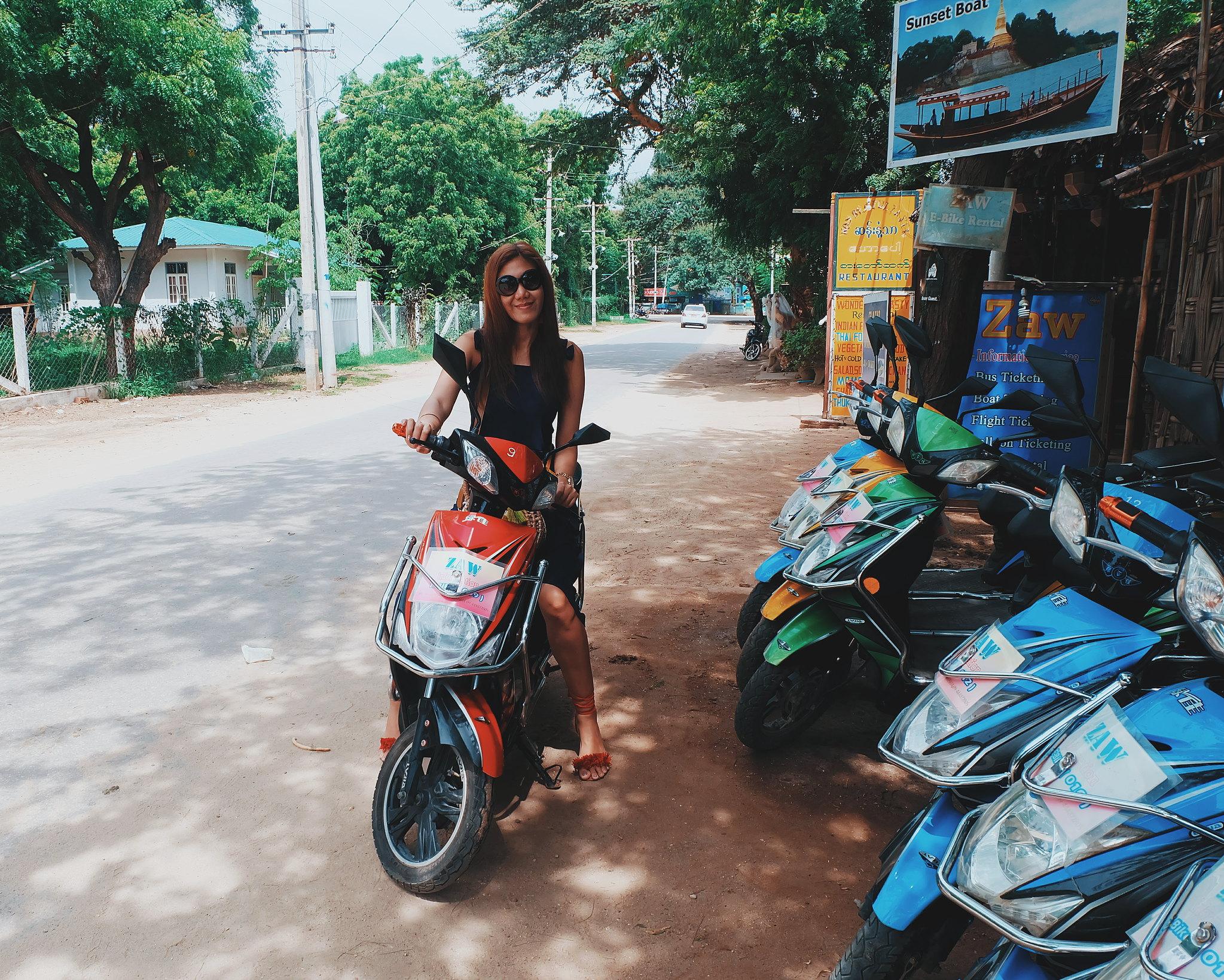 Bagan ebike rental