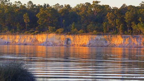 Coalmine cliffs at Stockton