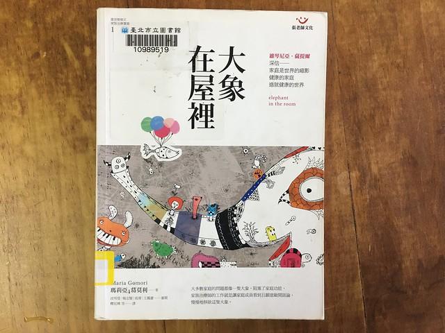《大象在屋裡:薩提爾模式家族治療實錄》封面