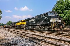 NS 8983 | GE C40-9W | NS Memphis District