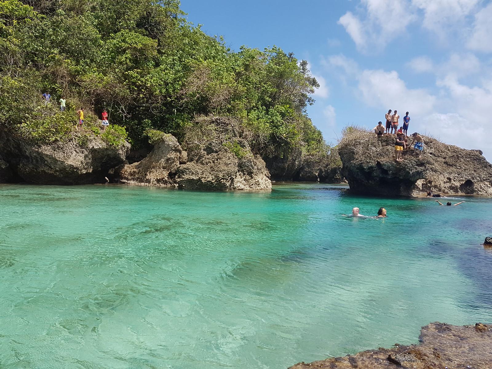 Magpupungko Pool Rocks