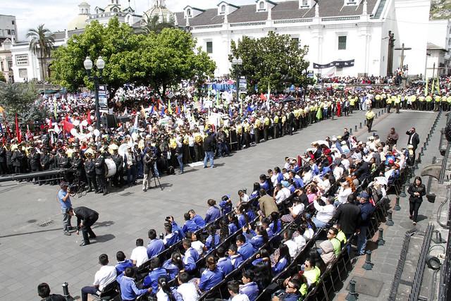 CAMBIO DE GUARDIA DEL GRUPO ESCOLTA PRESIDENCIAL, PICHINCHA, 07 DE AGOSTO 2017