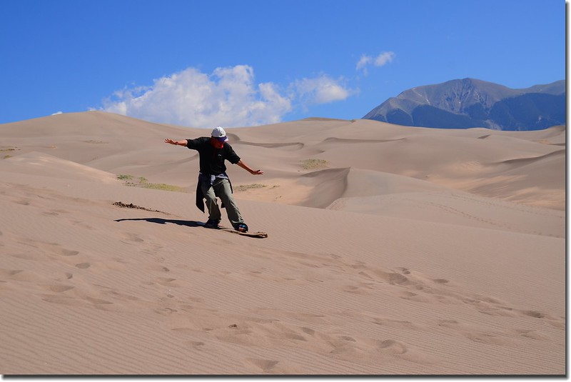 Sledding at Great Sand Dunes  (29)