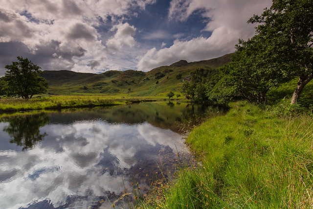 The River Cannich ..