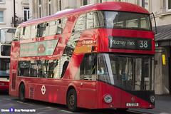 Wrightbus NRM NBFL - LTZ 1218 - LT218 - Mildmay Park 38 - Arriva - London 2017 - Steven Gray - IMG_6115