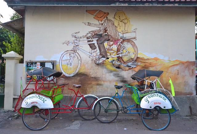 greenhost boutique hotel yogyakarta wall arts