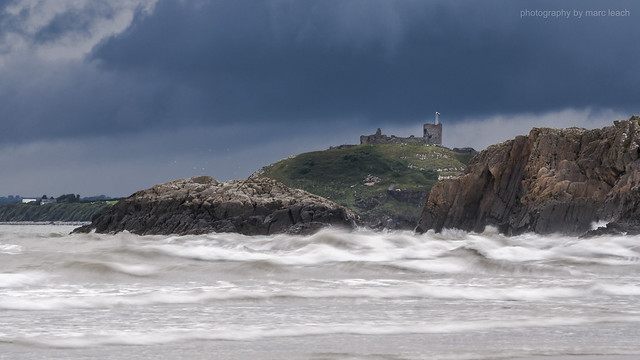 Storm Over Criccieth Castle, Nikon D200, Sigma 55-200mm F4-5.6 DC HSM