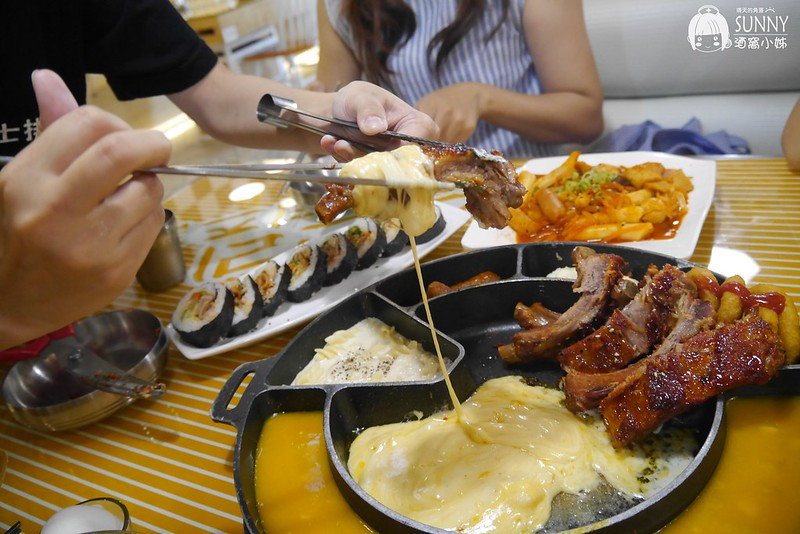 嘉義美食x韓式料理x史丹利 芝士排骨