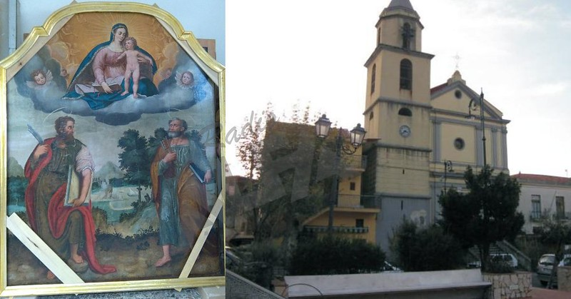 Tela di San Bartolomeo e chiesa di Corbara