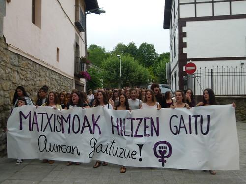 Sofia Tatoren aldeko manifestazio eta elkarretaratzea