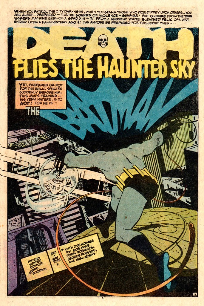 Detective Comics 442 Death Rides the Haunted Sky