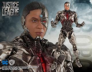 壽屋 ARTFX+ 系列【正義聯盟:鋼骨】JUSTICE LEAGUE サイボーグ 1/10 比例全身雕像作品
