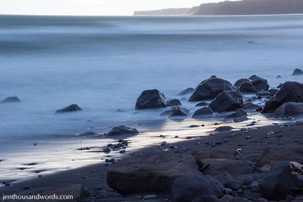 Dusk at the beach 10