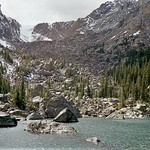 Mon, 08/07/2017 - 20:57 - Rocky Mountain National Park, Colorado - Lake Haiyaha